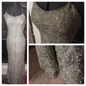 Sage Green prom dress